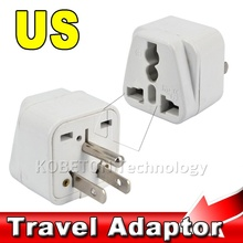 3 Pins UK/US/EU/AU Socket to USA America Japan JP Canada CA Electrical Wall Adapter Charger Converter Plug 3 PIN Travel Power