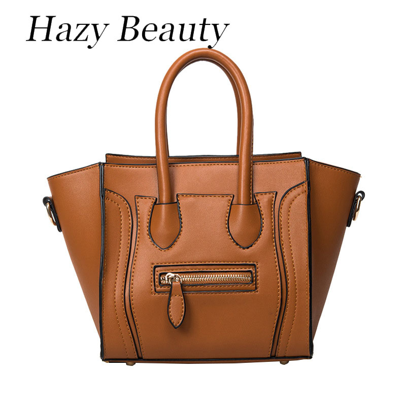 Hazy beauty New neon trapeze women handbag super chic lady cross body bag brown girls messenger shoulder bags big volume DH529<br><br>Aliexpress