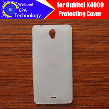 Oukitel K4000 Case Cover 100% Official Original Anti-Knock Shockproof Protector Soft TPU Silicone Case Cover for K4000