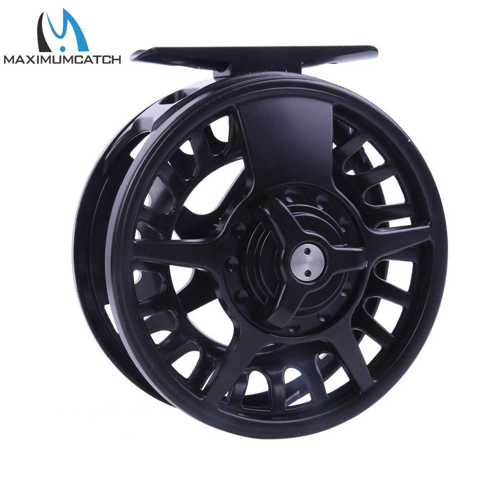 Maximumcatch 5/6/7/8 WT Fly Reel Aluminum Black Right&amp;Left-handed Fly Fishing Ree Fly Reel<br>