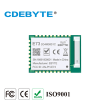 CDEBYTE E73-2G4M08S1C nRF52840 BLE 5,0 Wireless Transceiver 8dbm 120 mt 2,4 ghz Keramik Antenne 2,4 ghz Bluetooth 4,2 RF Modul(China)