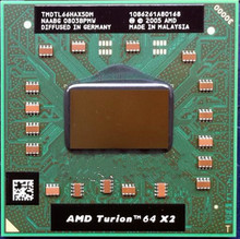 AMD cpu laptop Turion TL-66 CPU 1M Cache 2.3GHz Socket S1 Dual-Core Laptop processor tl66 TL 66 free shipping in stock