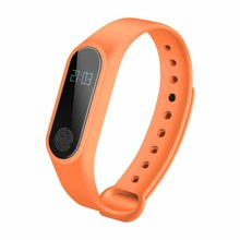 UHF OEM custom design RFID wristband waterproof wrist watch pedometer smart health watch(China)