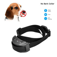Hot Sale Anti Bark No Barking Remote Electric Shock Vibration Remote Pet Dog Training Collar E2shopping(China)