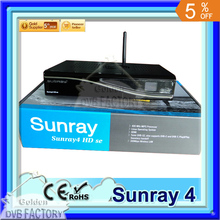 1PC Sunray4 800Se SR4 ,Sunray 800 HD Se Sr4 | sunray4 hd se sr4 with wifi 300mbps Sim2.10 BL#84 Flash triple tuner(1pc SR4)(China)