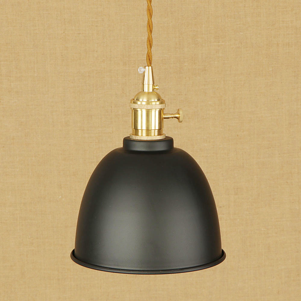 Modern Loft industrial colorful pendant lamp adjust cord E27 LED hang pendant light with switch for home kitchen living room <br>