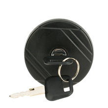 Locking Petrol Diesel Fuel Cap Cover & Two Keys for Transit MK6 2000 - 2006