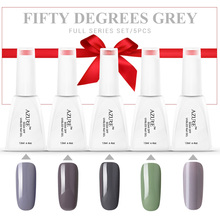 Azure 12ML Gel Nail Polish Soak Off Grey Color Nail Gel Newest Color Gel Long-lasting Lacquer Wine Red Series UV Gel Nail Polish
