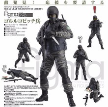 15cm METAL GEAR SOLID 2: SONS OF LIBERTY Figma 298 SWAT PVC Action Figure Collectible Model Toy for Boys(China)