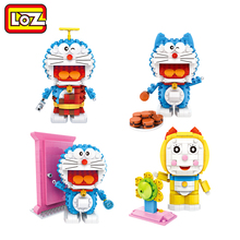 LOZ Genuine authorized Doraemon Toys Limited Collection Toys Blocks LOZ building blocks Action Toy Figures An For Ages 14+(China)