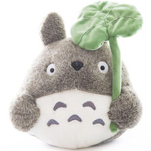 35cm High Quality Birthday Gift For Girl Friend Kids Stuffed Animal Totoro Doll Plush Toys Cute Cartoon Cat Genuine Miyazaki(China)