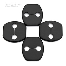 4 Pcs Car Door Lock Cover Door Striker Fit for Nissan Versa Sunny Sylphy Livina Qashqai Teana March Tiida X-trail Murano