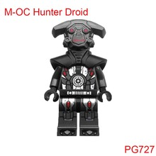 Pg727 Imperial Inquisitor M-Oc Hunter Droid Mini Bricks 75185 Star Wars Tracker Single Sale Building Blocks Toys For Children(China)