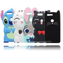 Lovely Beard Cat Judy Stitch Soft Rubber Mobile Phone Skin Cover Case For Huawei Honor 8(China)