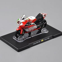 1/18 Scale VALENTINO ROSSI Aprilia RSW 250 46# Imola 1998 Motorcycle Model Kids Gift Collection Gifts