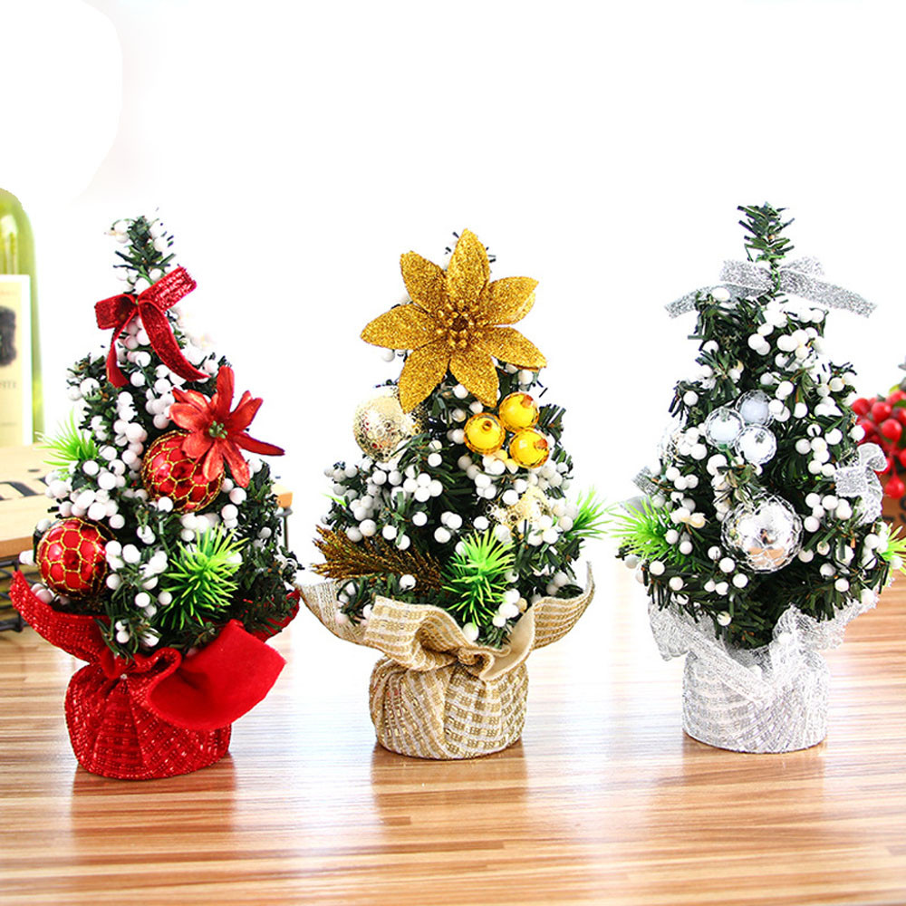 Merry Christmas Tree Bedroom Desk Decoration Toy Doll Gift Office Home Children Decor Christmas Decorations For Home C20111