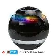 Bluetooth Speaker Wireless Portable Bass Speaker Mini Sound Box Caixa De Som Bluetooth Receiver with FM Radio LED Light TF Card