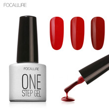 FOCALLURE One Step Uv Gel Nails Polish 80 Colors Nail Gel Lacquers Esmaltes Permanentes Soak Off Gel(China)