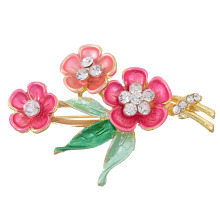 ZOSHI Fashion Vintage Designer Enamel Colorful Flower Charm Costume Brooch Pins Jewelry Accessories for girl brooch badge