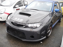 Car Accessories FRP Fiber Glass OEM Style Front Grille Fit For 2008-2010 Impreza GRB WRX STI Front Grille(China)