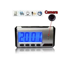 EDAL Fashion Mini Camera Clock Alarm 640X480 Dowmland Vedio Wifi Cam IP Mini DV DVR Camcorder(China)