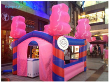 4m Advertising Inflatable Icecream Booth/ Inflatable Candy Sweet Booth