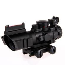 LumiParty 4X Reflex Optics Riflescope Tactical Sight for Hunting Gun Rifle Magnifier Aimpoint Scope