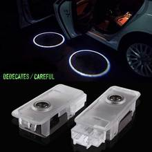1pair 3D LED  Car Dedicated Door Welcome Light Retrofit Advanced Projector Shadow Lamp for Peugeot  DXY