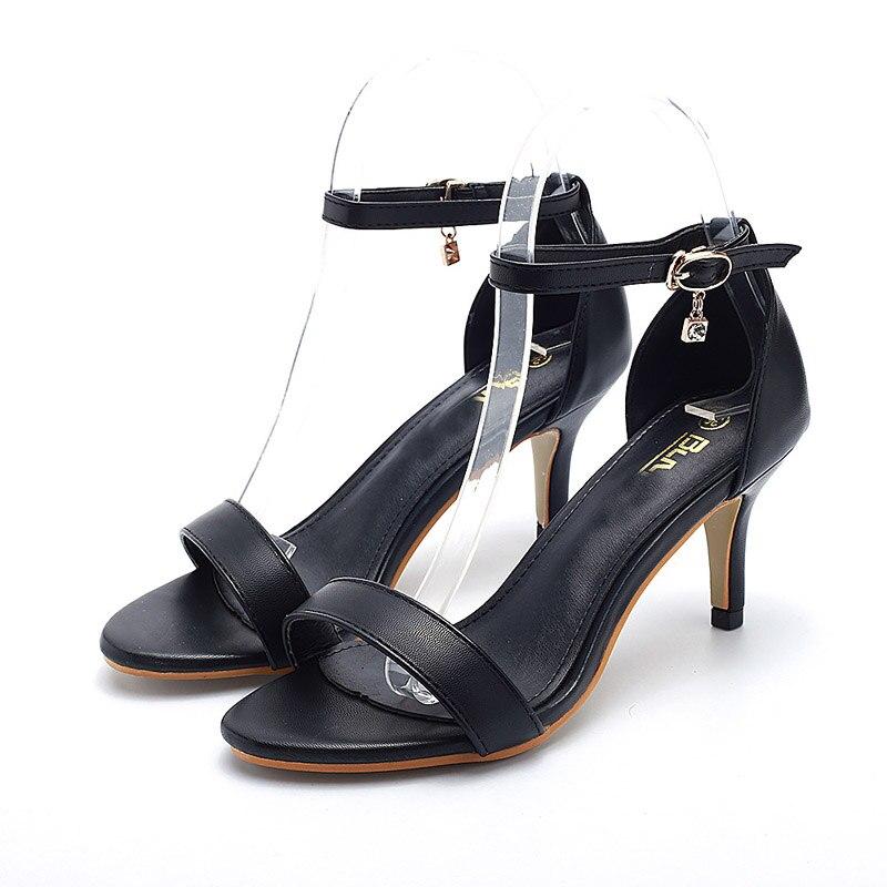 2017 Black Hasp Sexy Women Sandals Cozy High Heels Ladies Pumps Shoes Woman Sandalias Mujer Sandales Femme Summer style<br><br>Aliexpress