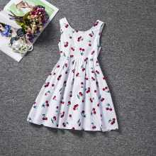 Baby Girl Dress Kids Clothes 2017 Brand Children Princess Dresses For Girls Clothes Floral Print Christmas Dress For Little Girl