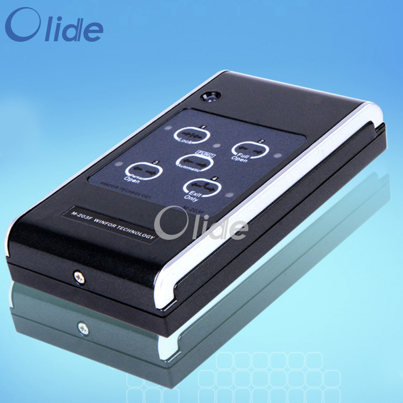 Automatic Door Five Position Key Switch,Autodoor Operation Five Function Selection Switch,Knob Type ABS Plastic<br>