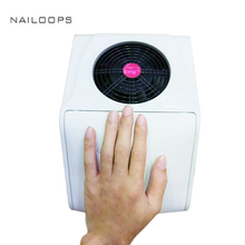 20W Nail Art Equipment tools Nail suction Dust Collector Machine Vacuum Cleaner with fan and bags Salon Tool