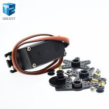 1pcs/lot MG995 55g servos Digital Metal Gear rc car robot Servo(China)