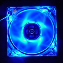 Laptop CPU Cooler Fan Cooling Fan 4 Pin 120mm PC Computer Cooling Fan LED Light 9-Blade CPU Cooling Fan