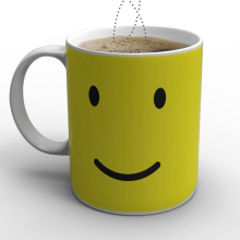 Creative Smile Face Colour Expression Changes Ceramic Coffee Mug 2752 Magical Temperature Sensing Coffee Cup Novelty Gift(China)