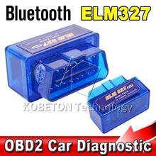Bluetooth ELM327 Interface Code Readers ELM 327 V2.1 Smart Car Vehicle Diagnostic Scanner Tool ODB2/OBDII Protocols Android(China)