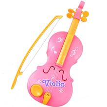 2017 Fashion Magic Child Music Violin Toy Children's Toy Musical Instrument Kids Baby Christmas Gift Krystal