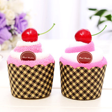 Cherry cupcake Wedding Favor business promotional birthday gifts face cake towel Superfine fiber Wedding gifts for guests