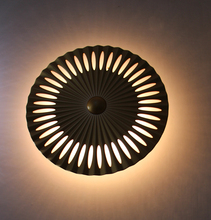 Indoor wall mounted Sun flower led wall sconce, surface wall mounted led wall lamp for indoor bedroom,living room Hall 85-265V,(China)