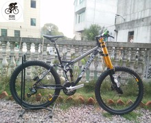Kalosse M4000 Full suspension frame DH/downhill mountain bike 26 inch mountain bicycle 27 speed alloy frame(China)