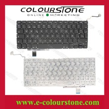 For Macbook Pro 13'' A1297 Teclado SP Spanish layout black laptop keyboard Big enter key