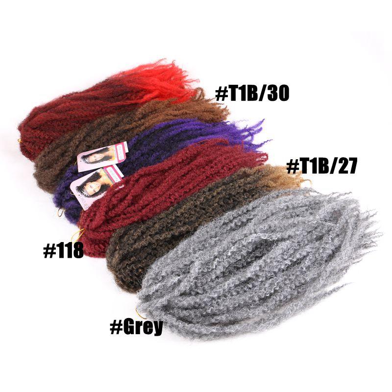 afro kinky curly marley braids07