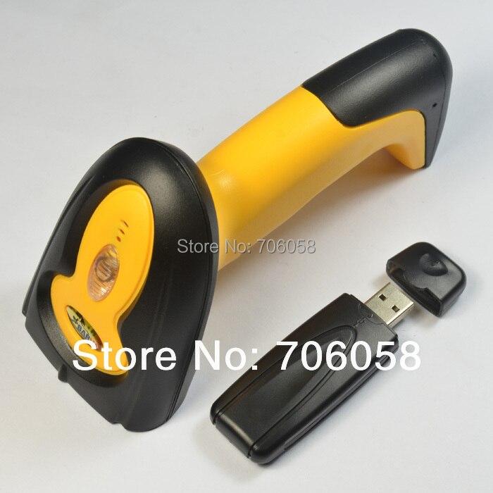 Wireless barcode scanner/wireless barcode gun wireless laser scanner/433M wireless channel/plug and play/with memory<br><br>Aliexpress