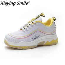 Buy Xiaying Smile Hot 2018 Women Brand Sneakers spring Breathable Sport Shoes Female Running Shoes Light outdoor rubber sole for $17.80 in AliExpress store