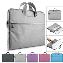 Laptop Bag Sleeve Case for MacBook AIR PRO Retina Notebook Bag for MacBook Xiaomi Air Handle Bag Computer Briefcase