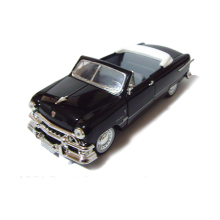1:32 1951 Cus-tomer Con-ver-tible Retro classic cars model Classic collection car model