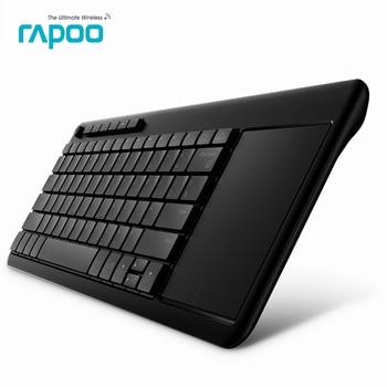 Neue original rapoo k2600 2,4g wireless touch tastatur schlank tastaturen mit touch pad panel für tv computer tablet
