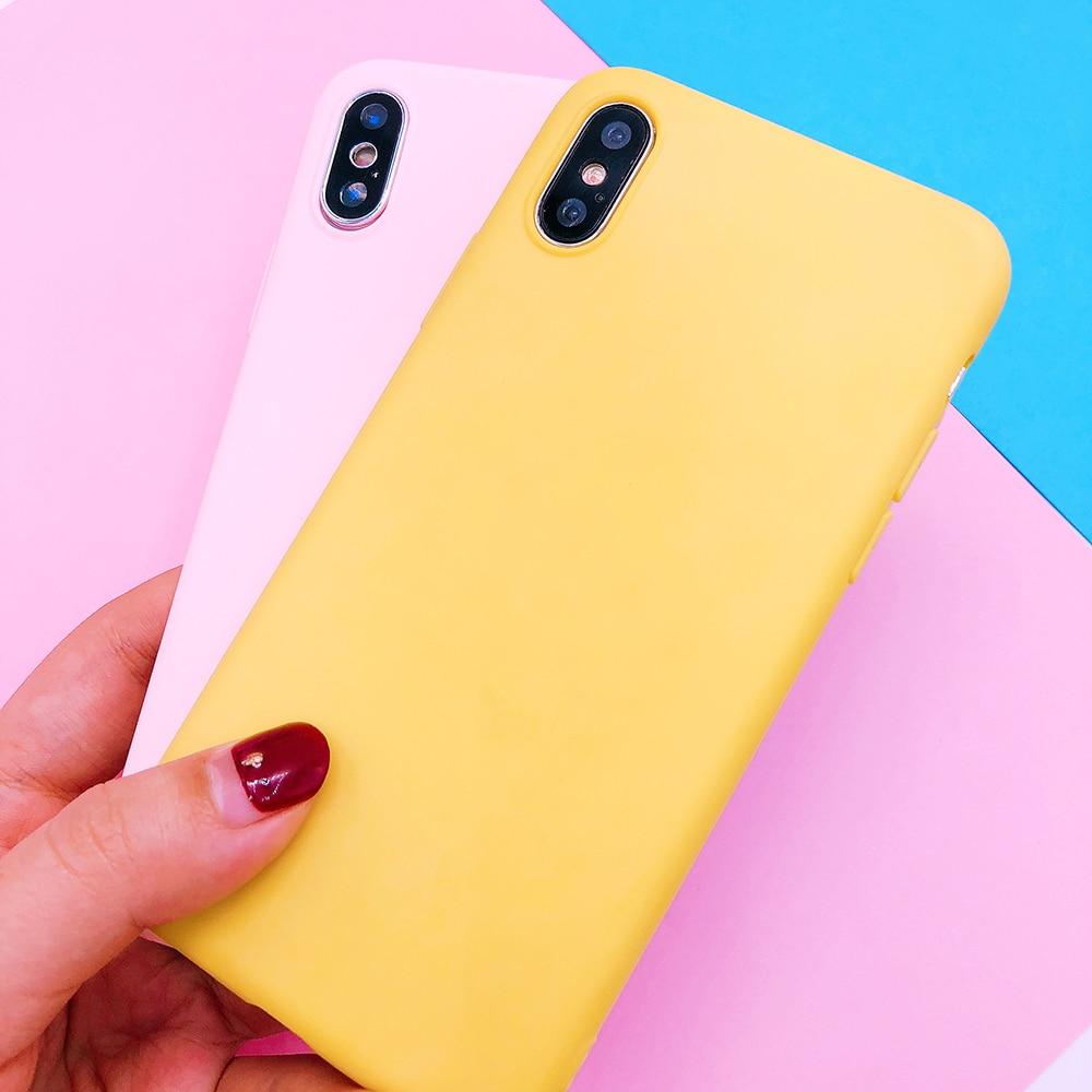For huawei P20 plus lite P10 P9 lite plus P smart Candy Color soft TPU Case on mate 9 10 pro Nova 2 plus 3e Y9 2018 cover funda (30)