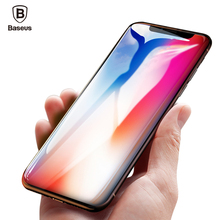 Buy Baseus 0.3mm 9H Screen Protector Tempered Glass iPhone X Toughened Glass Protective Film iPhone X 10 Phone Front Cover for $4.30 in AliExpress store