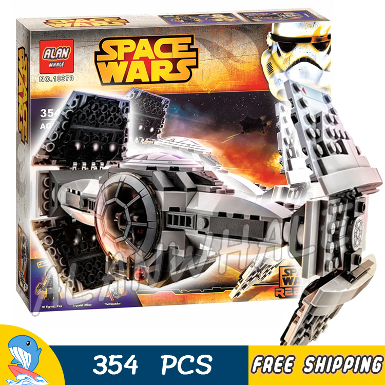 354pcs Bela 10373 Star Wars The Force Awakens TIE Advanced Prototype Building Blocks Gifts Children Toys Compatible With Lego<br><br>Aliexpress